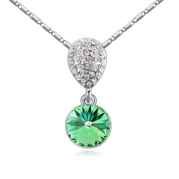 collar para mujer de plata con piedras