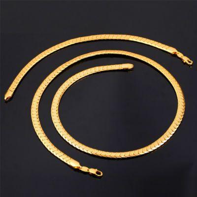 collar de oro para hombre
