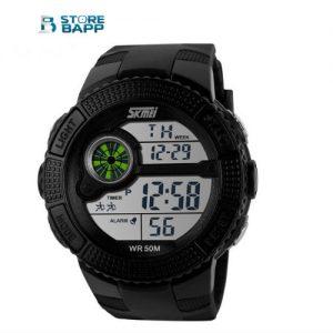 Reloj deportivo con cuatro funciones