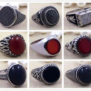 anillos de plata para hombre