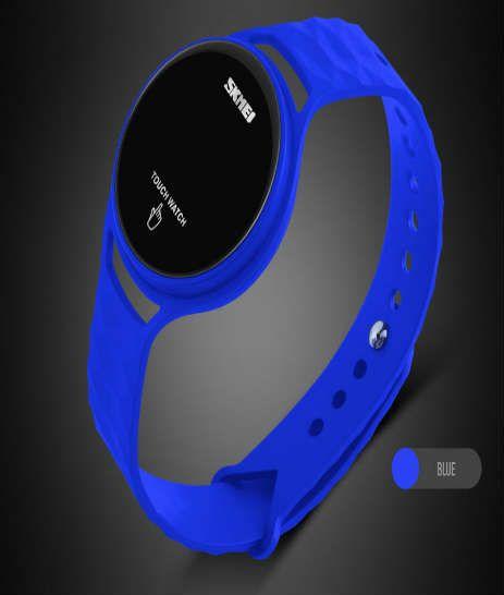 reloj azul para mujer