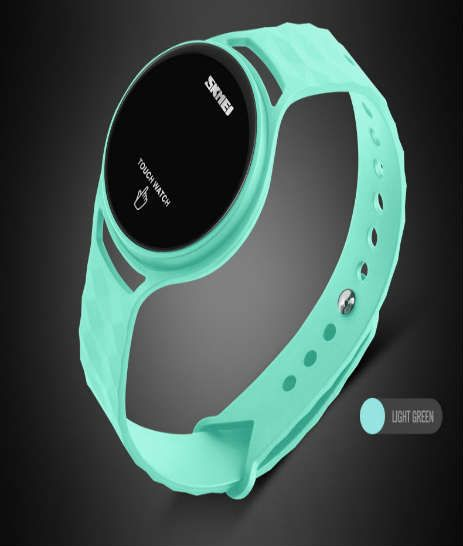 reloj touch color verde para mujer