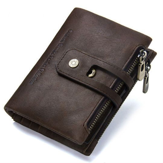 billetera de cuero para hombre en Lima