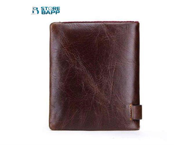 billeteras de cuero para hombre en Lima