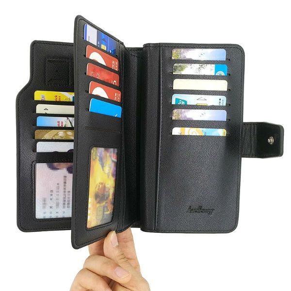 billetera porta tarjetas para hombre
